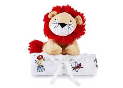 Aden + Anais Toy Swaddle Gift Set