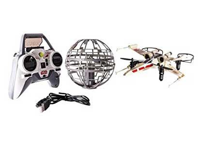 Description herAir Hogs Star Wars X-wing Vs. Death Star, Rebel Assault Rc Drones