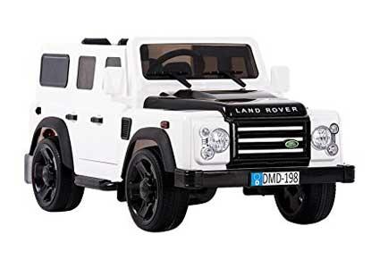Aosom 12V Land Rover Defender Kids Electric Ride On Car