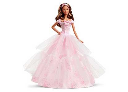 Barbie Birthday Wishes 2016 Barbie Doll, Light Brunette
