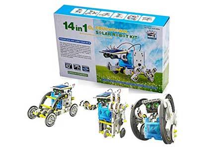 Bo Toys 14-in-1 Solar Robot Science Education Assembly Kit