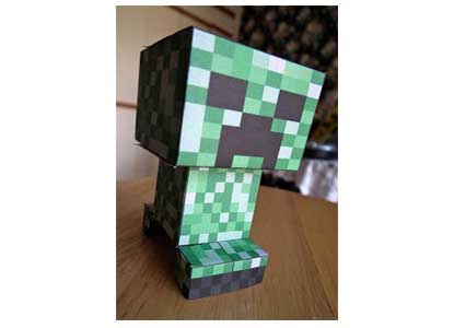 Build Your Own Printable Creeper