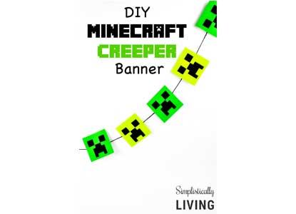 Minecraft Creeper Banner