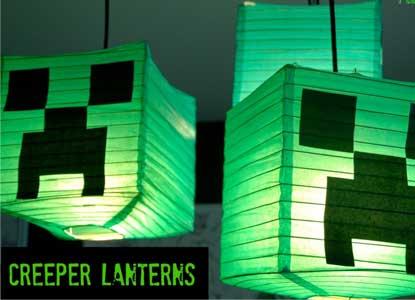 Creeper Lanturns