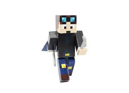 Dan - 4 Action Figure Toy | Mine V2