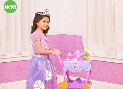 Disney Junior's Sofia The First Delightful Dining Cart