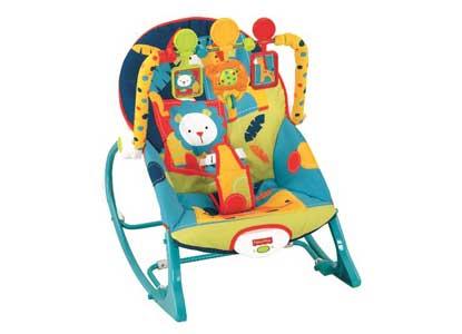 Fisher-Price Infant To Toddler Rocker, Dark Safari