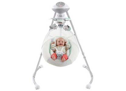 Fisher-Price Moonlight Meadow Cradle 'n Swing