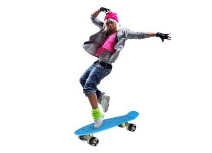 Gracelove 22 Inch Cruiser Style Skateboard
