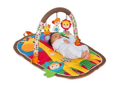 Infantino Take and Play Safari Activity Gym and Playmat