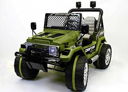 Jeep Wrangler Style 12V Ride On Car w/ Remote Control