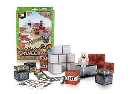 Minecraft Papercraft - Minecart Set