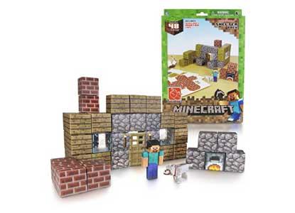 Minecraft Papercraft Shelter Set