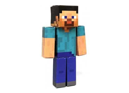 Minecraft Papercraft Steve