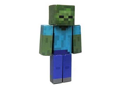 Minecraft Papercraft Zombi