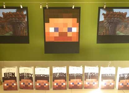 Minecraft Printable Treasure Chest