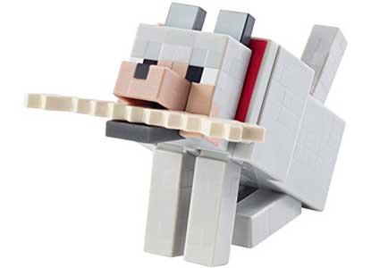 Minecraft Wolf 5 Figure