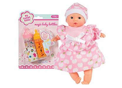 My Sweet Baby, Li'l Newborn Baby and Magic Baby Bottle Combo