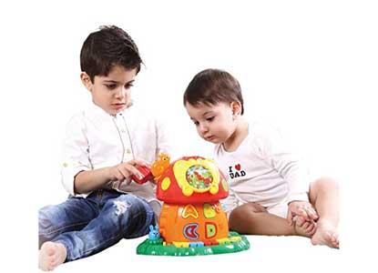 PLS Baby Music Mushroom House Electronic Learning Toy