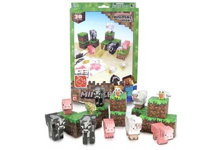 Papercraft Animal Mobs Set