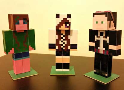 Personalized Minecraft Figure
