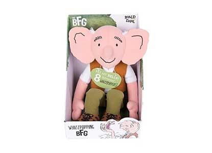 Roald Dahl Whizzpopping BFG Plush Toy
