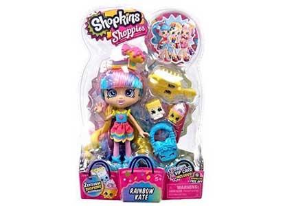 Shopkins Season 5 - Exclusive Rainbow Kate Shoppies Doll