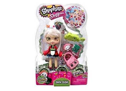 Shopkins Season 5 - Exclusive Rainbow Sara Sushi Shoppies Doll