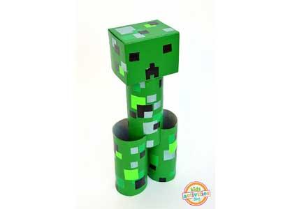 Toilet Roll Creeper Figure