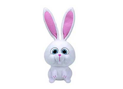 Ty Beanie Babies Secret Life of Pets Snowball The Bunny Regular Plush