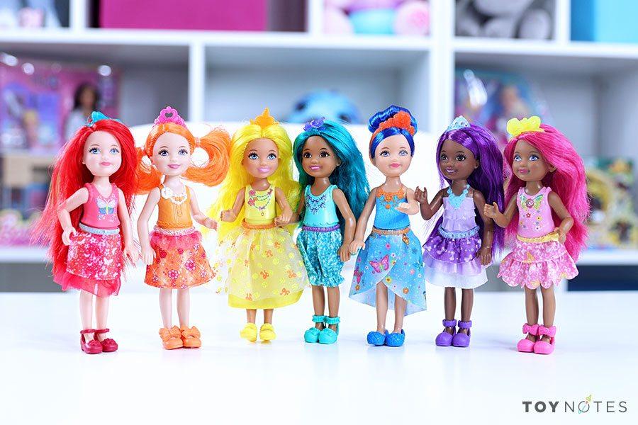 barbie dreamtopia rainbow cove dolls