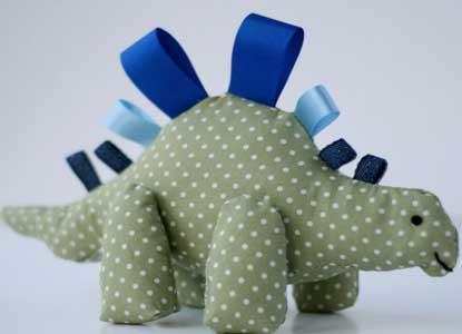 A Dinky Dinosaur Tag Toy