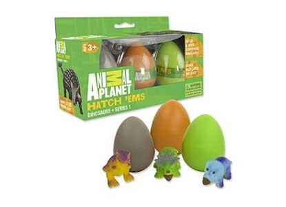 Animal Planet Grow Eggs- Dinosaur - Hatch and Grow Three Different Super-Sized Dinos
