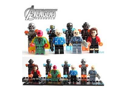 Avengers Age of Ultron Super Heroes Series 8pcs/set Minifigures Building Toys
