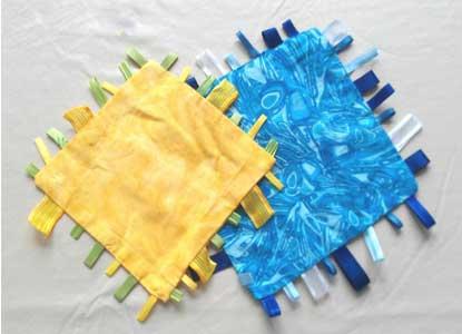 Baby Ribbon Blanket