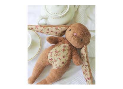 Bunny Toy- Brown Cuddle Bunny