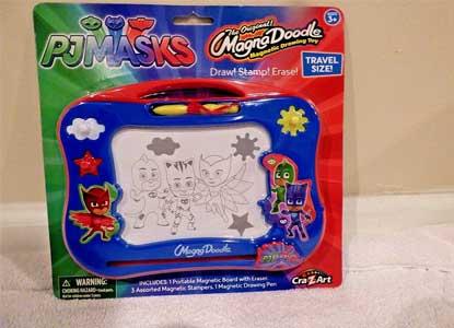 Cra-Z-Art PJ Masks Travel Magna Doodle Magnetic Drawing Toy