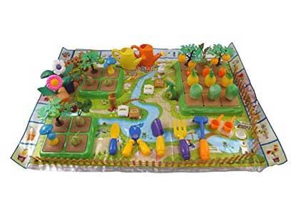 Create-Your-Own Farm Building Playset