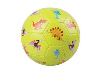 Crocodile Creek Kids Dinosaurs Soccer Ball, Lime Green