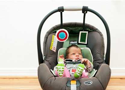 DIY Infant Car Seat and Stroller Toys