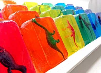 Dinosaur Toy Soap