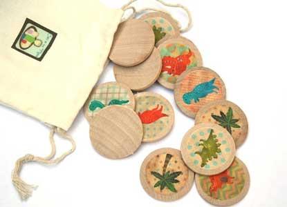 Dinosaur Toys - Wooden Matching Game