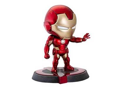 Dragon Models 5'' Iron Man Mark 43 Age of Ultron, Bobblehead Toy Figure