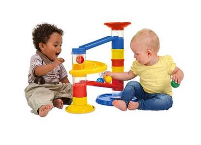 Galt Construction - Junior Ball Run Toy