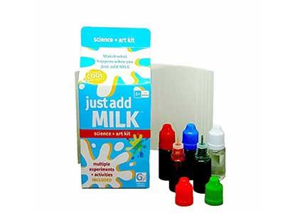 Griddly Games Just Add Milk: Science + Art Kit
