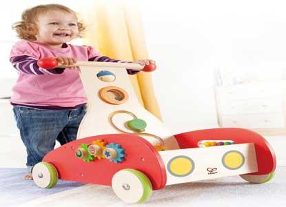 Hape - Wonder Walker Push and Pull Toy