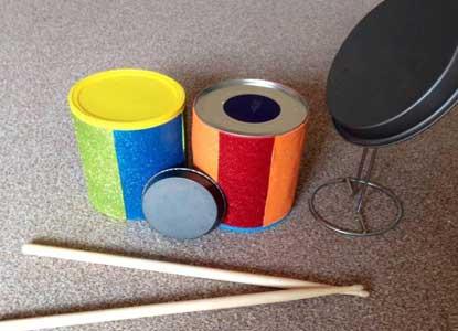 Homemade Drum Kit