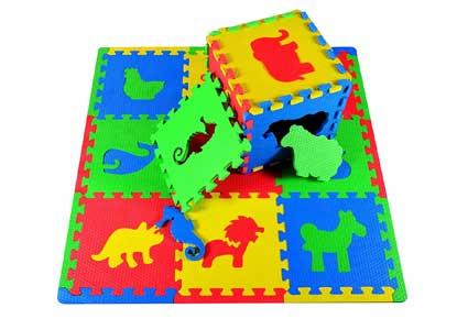 Joyin Toy 16 PCs Kids Puzzle Play Mat