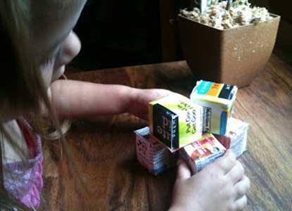 Juice Box Stacking Blocks