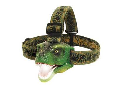 Kid Dinosaur T-Rex LED Headlamp Flashlight